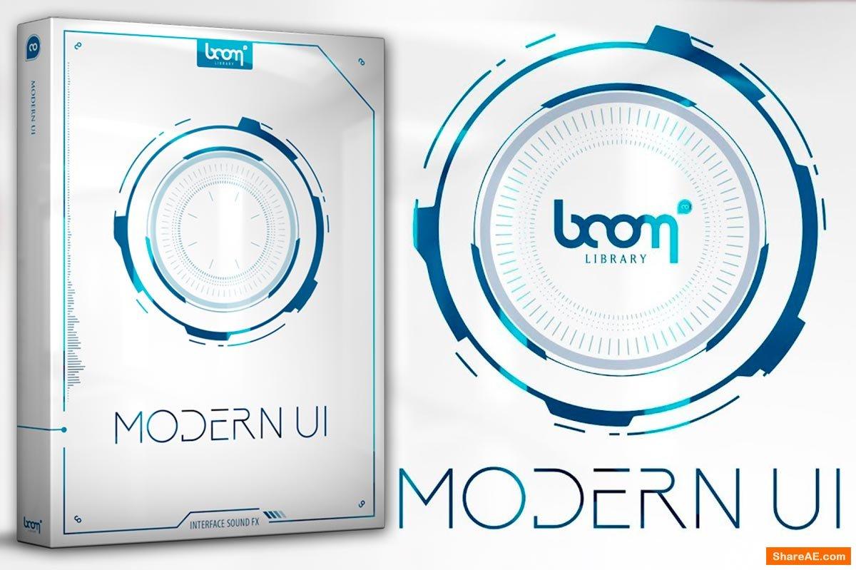 MODERN UI Sound FX - Boom Library