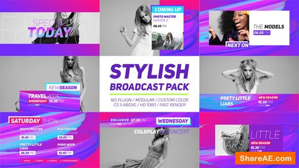 Videohive Stylish Broadcast Pack