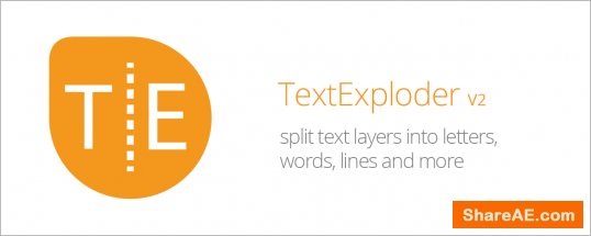 TextExploder V2 (Aescript)