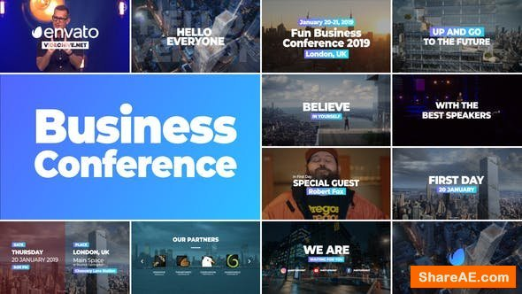 Videohive Business Conference Promo