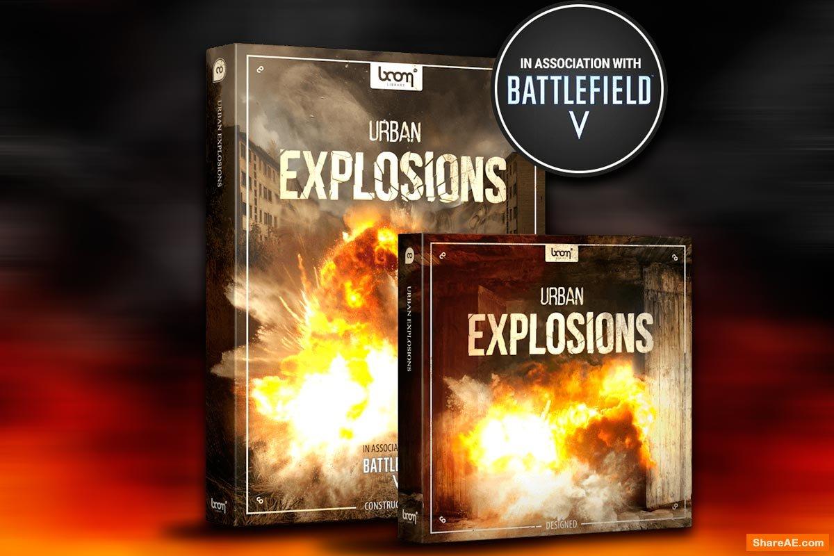 Urban Explosions Bundle - Boom Library