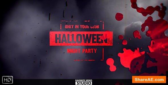 Videohive Halloween Horror Opener