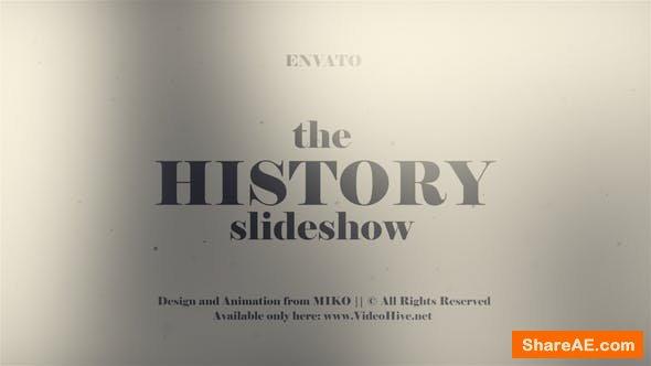 Videohive History Slideshow 23110705