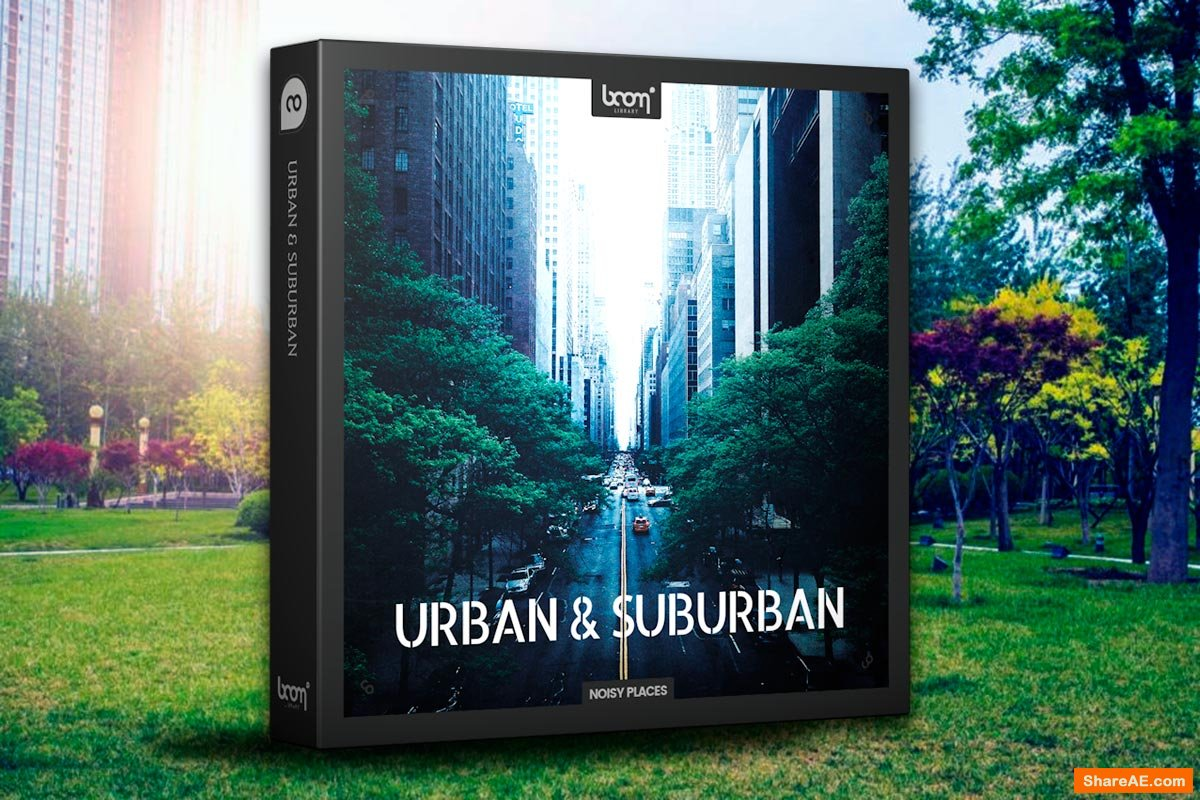 Boom Urban and Suburban - Boom Library