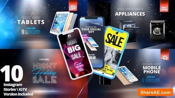 Videohive Holiday Sales Template v1.2