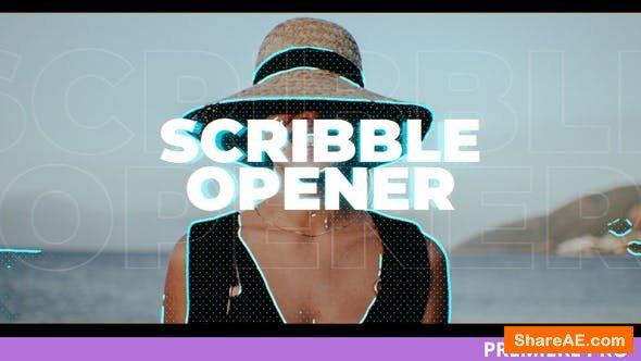 Videohive SCRBLR / Scribble Opener for Premiere