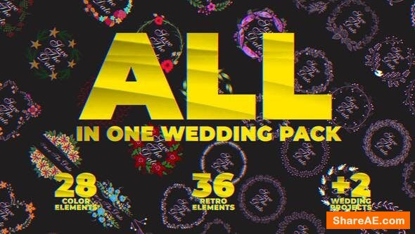 Videohive Wedding Pack 23823028
