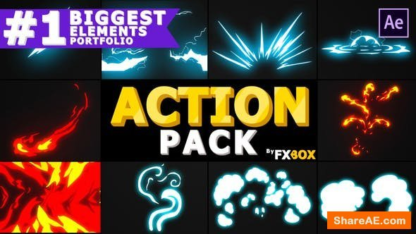 Videohive Action Elements Pack