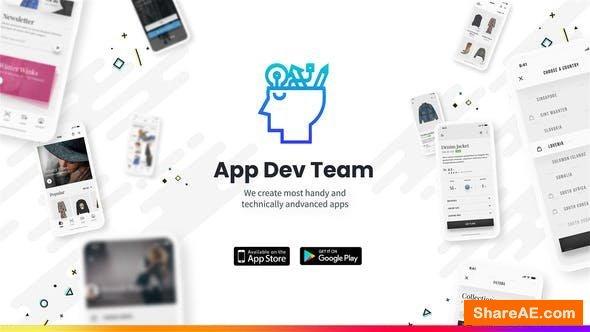 Videohive App Development Promo