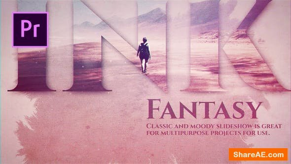 Videohive Ink Fantasy - Premiere Pro
