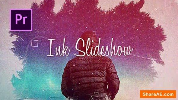 Videohive Ink Slideshow - PREMIERE PRO