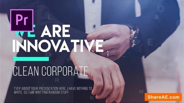 Videohive Corporate Timeline - PREMIERE PRO