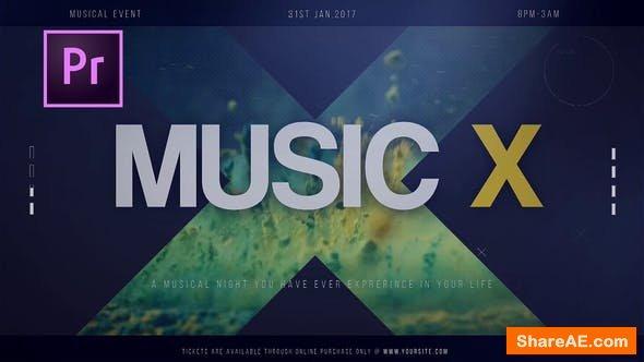 Videohive Music X - PREMIERE PRO