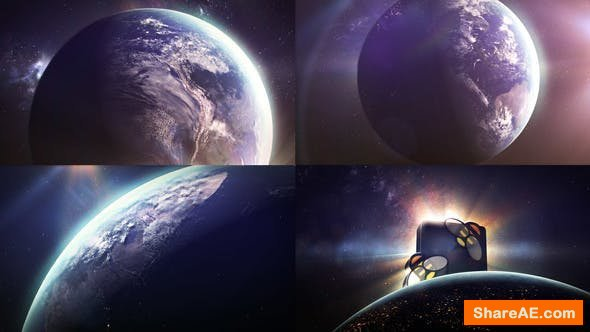Videohive Earth Sun Logo