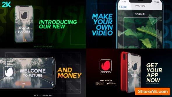 Videohive Modern mobile app promo