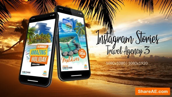 Videohive Instagram Stories Travel Agency 3