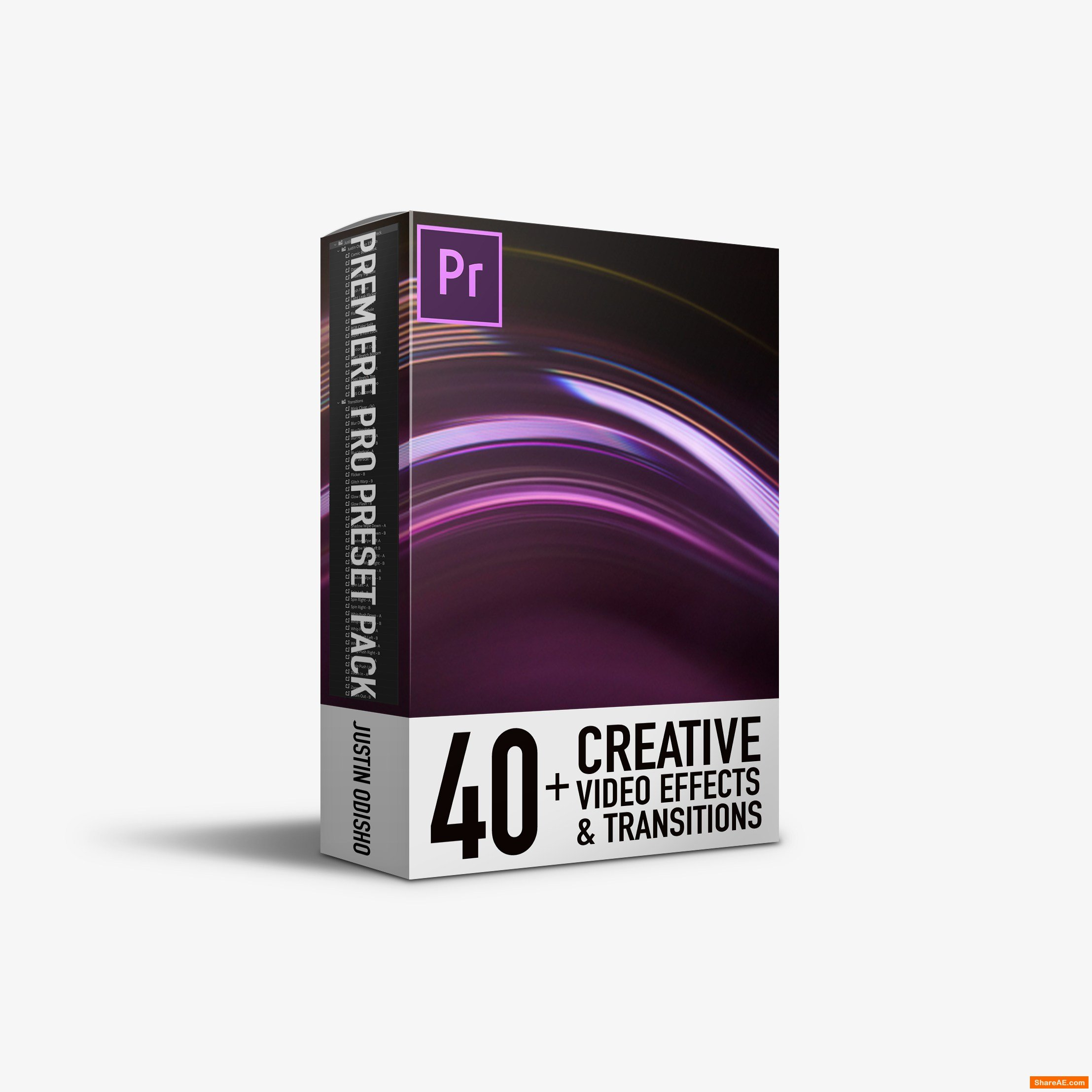 40+ Video Effects & Transitions - Adobe Premiere Pro Preset