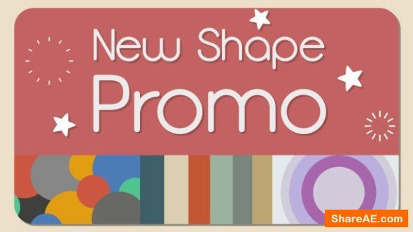 Videohive New Shape Promo