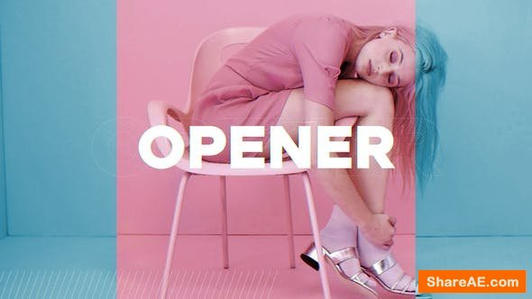 Videohive The Fashion Opener