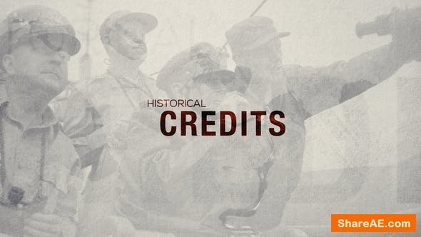 Videohive Historical Credits