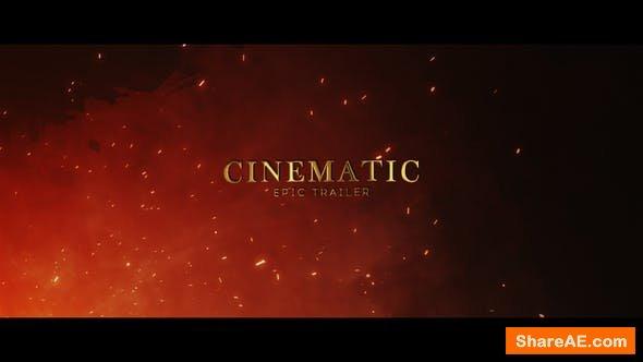 Videohive Cinematic Epic Trailer 23432291