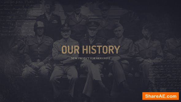 Videohive Our history