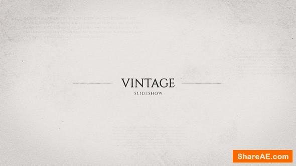 Videohive Vintage Photo Opener 22880925