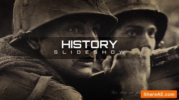Videohive History Slideshow 20944715
