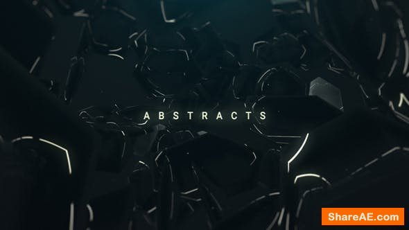 Videohive Cinematic Abstract Titles