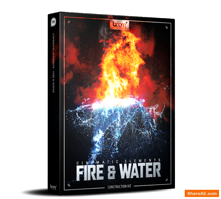 Cinematic Elements Fire & Water - Boom Library