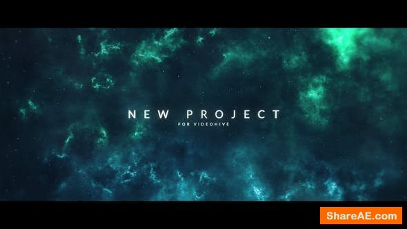 Videohive Space Titles