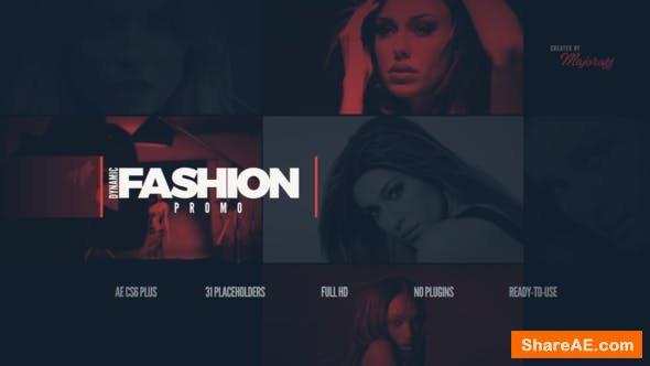 Videohive Dynamic Fashion Promo