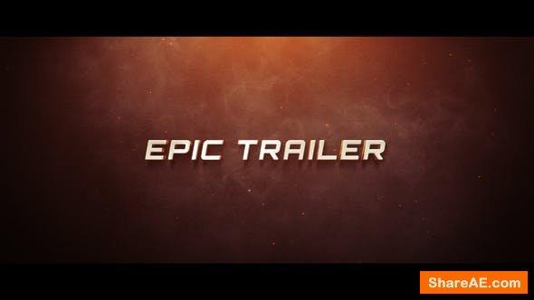 Videohive Epic Trailer 22845058