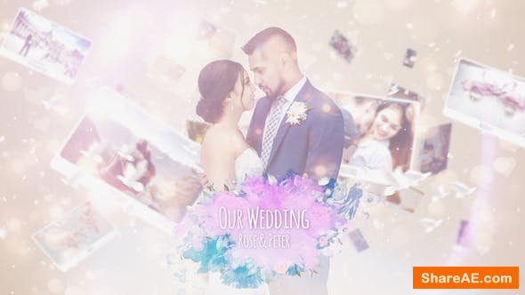 Videohive Wedding Photo Story