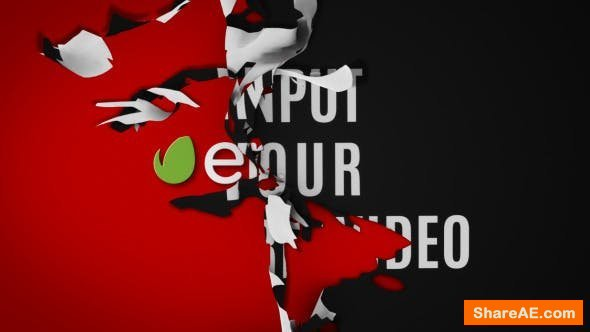 Videohive Tear Logo Reveal II