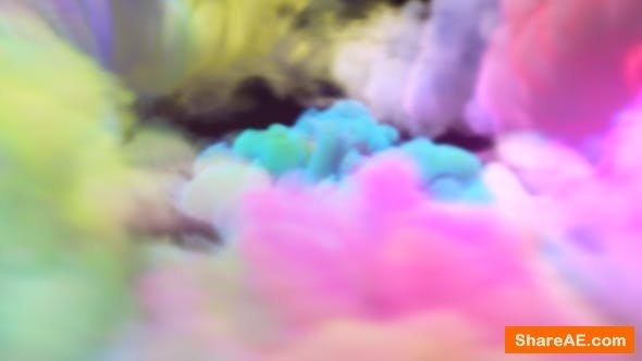 Videohive Colorful Vortex Logo Reveal