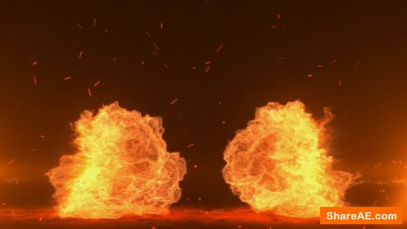 Videohive Explosion Logo Reveal 6523410