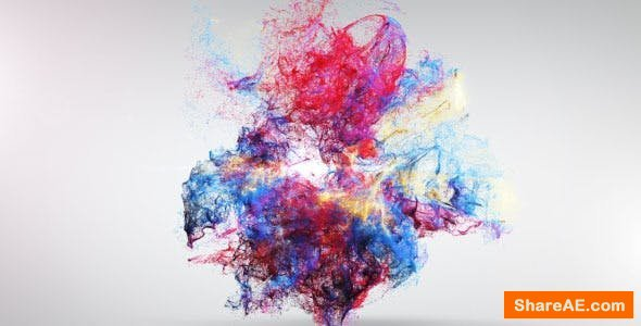 Videohive Colorful Explosion Logo Reveal