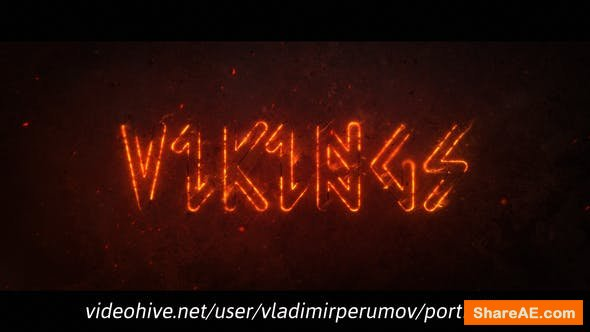 Videohive Fire Outline Logo