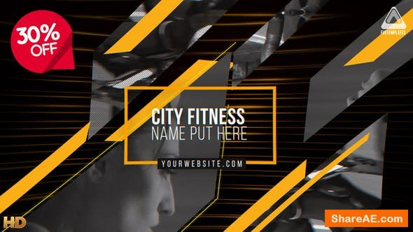 Videohive Future Fitness Opener