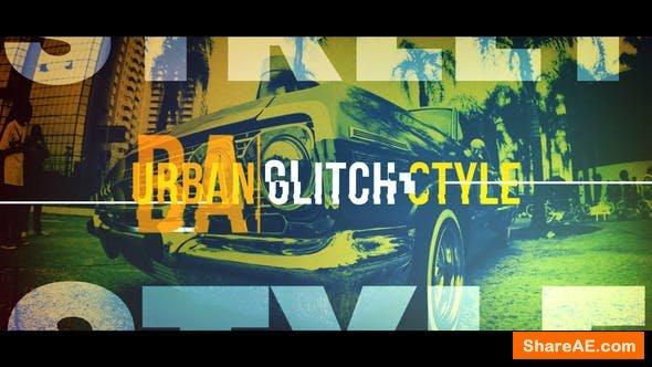 Videohive Urban Glitch Style - Promo Intro