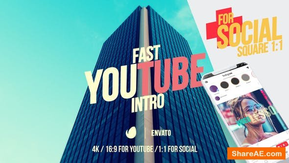 Videohive Youtube Fast Intro 4
