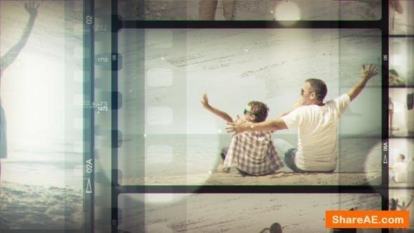 Videohive Summer Film Strip