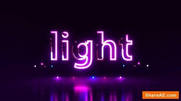 Videohive Neon Logo | Titles