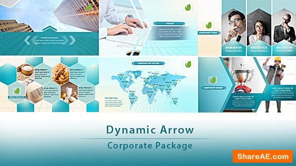 Videohive Dynamic Arrow - Corporate Package