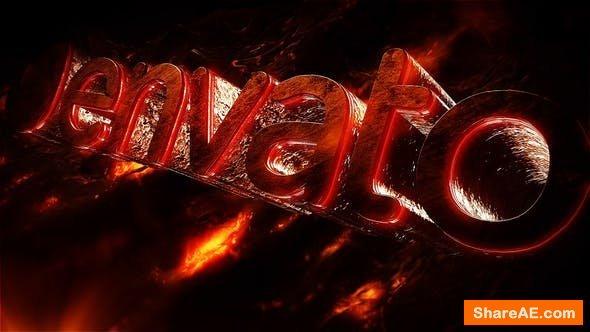 Videohive Hot Logo Intro
