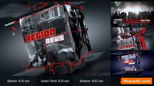 Videohive Region News