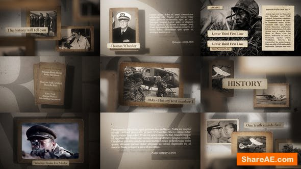 Videohive History 23607770