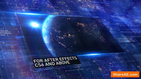 Videohive Space | Digital Promo / Slideshow
