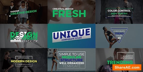 Videohive Unique Titles 21371547